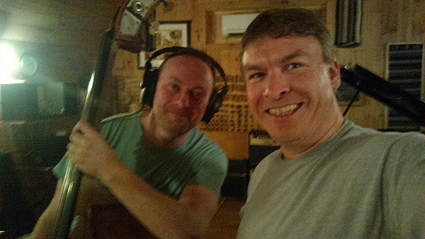 """Recording the contrabass on """"Angels in White"""""""